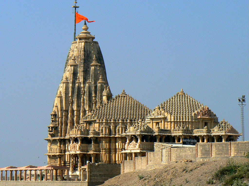 Somnath India  city pictures gallery : Somnath Temple, Veraval, Gujarat ~ Popular Temples of India