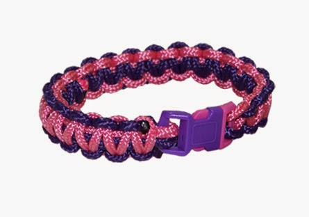 95 Parachute Cord Bracelet - By Pepperell Crafts