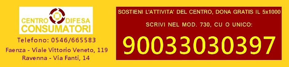 Associazione Centro Difesa Consumatori Faenza Lugo Ravenna