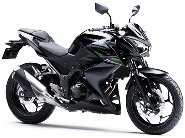 Motor Kawasaki Z250 Terbaru 2014 Hitam
