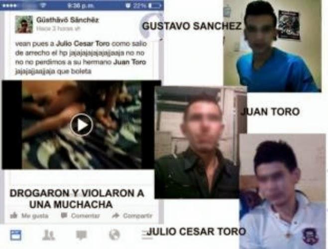 Violan a una mujer y publican video en Facebook