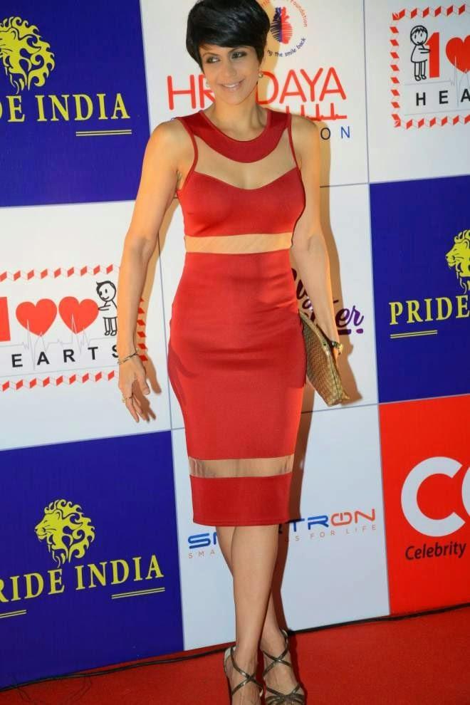 Mandira Bedi Short Mini Dress Latest Stills
