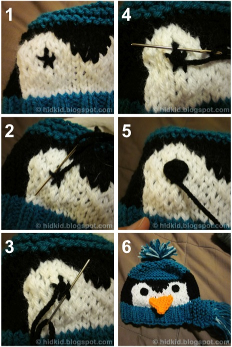 How To Embroider Eyes Onto Amigurumi : Craftimism: Embroidered Eye Tutorial
