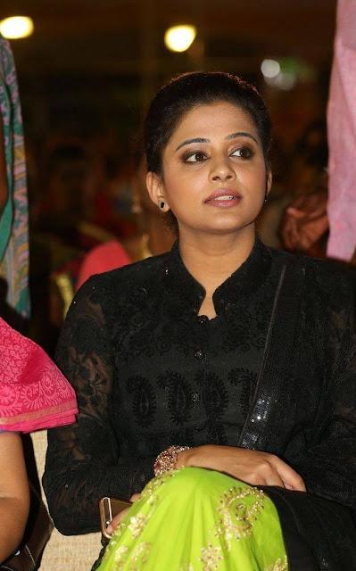 Priyamani Stills At Harinath Wedding Reception