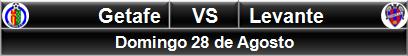 Getafe vs Levante