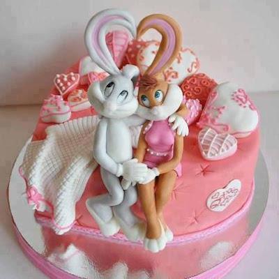 Tarta de Bugs Bunny y Lola