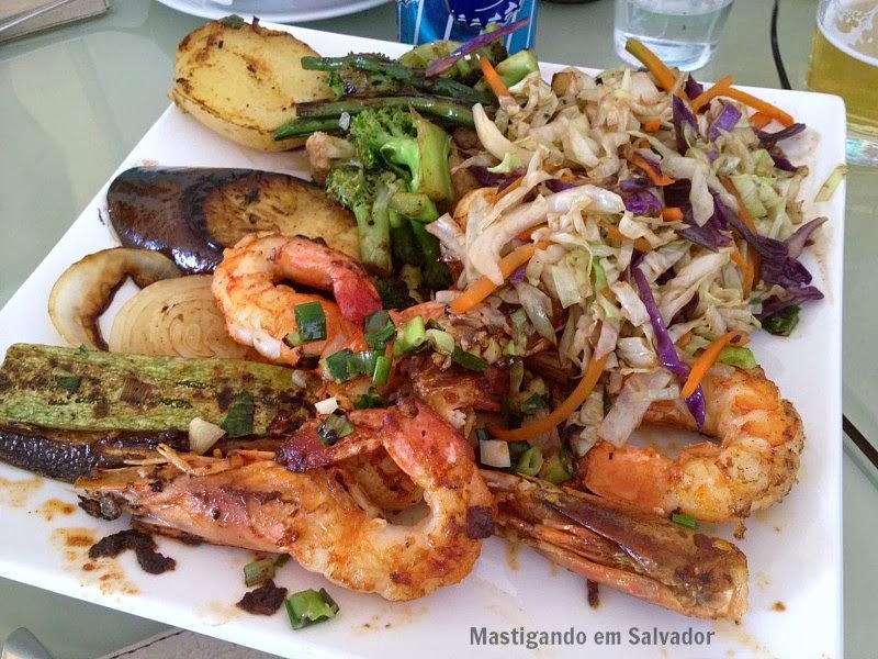 Soho Restaurante: Teppan de Camarão