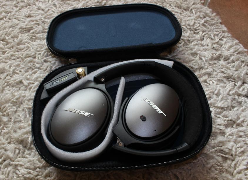 Lieferumfang / Ausstattung am Bose Quietcomfort 25