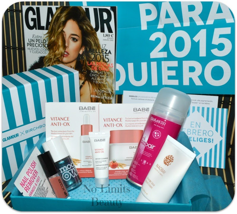 BirchBox Enero 2014: New Year's Revolution!