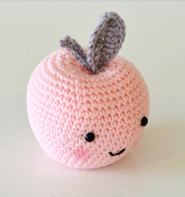 A Crochet Apple