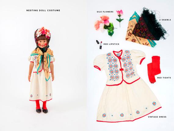 disfraces halloween: muñeca rusa