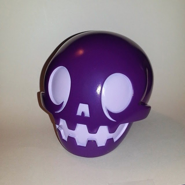 San Diego Comic-Con 2014 Exclusive Purple Calaverita Vinyl Figure by The Beast Brothers