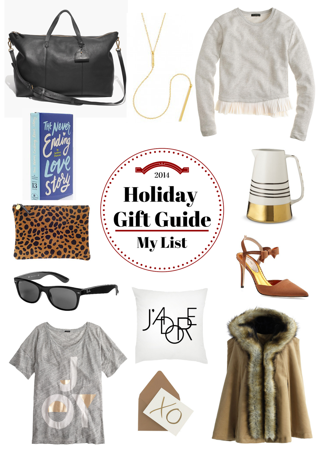 My List, Holiday Gift Guide, Project Soiree