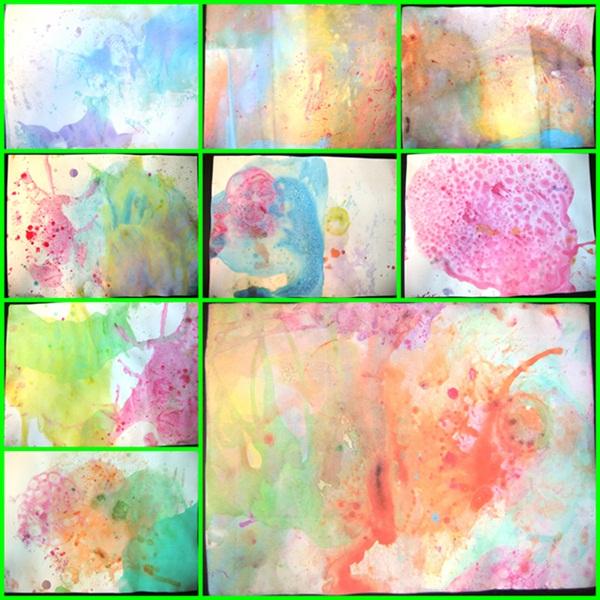 Conosciuto Studiamando liberamente: Dipingere con l'aria: bolle colorate  HW65