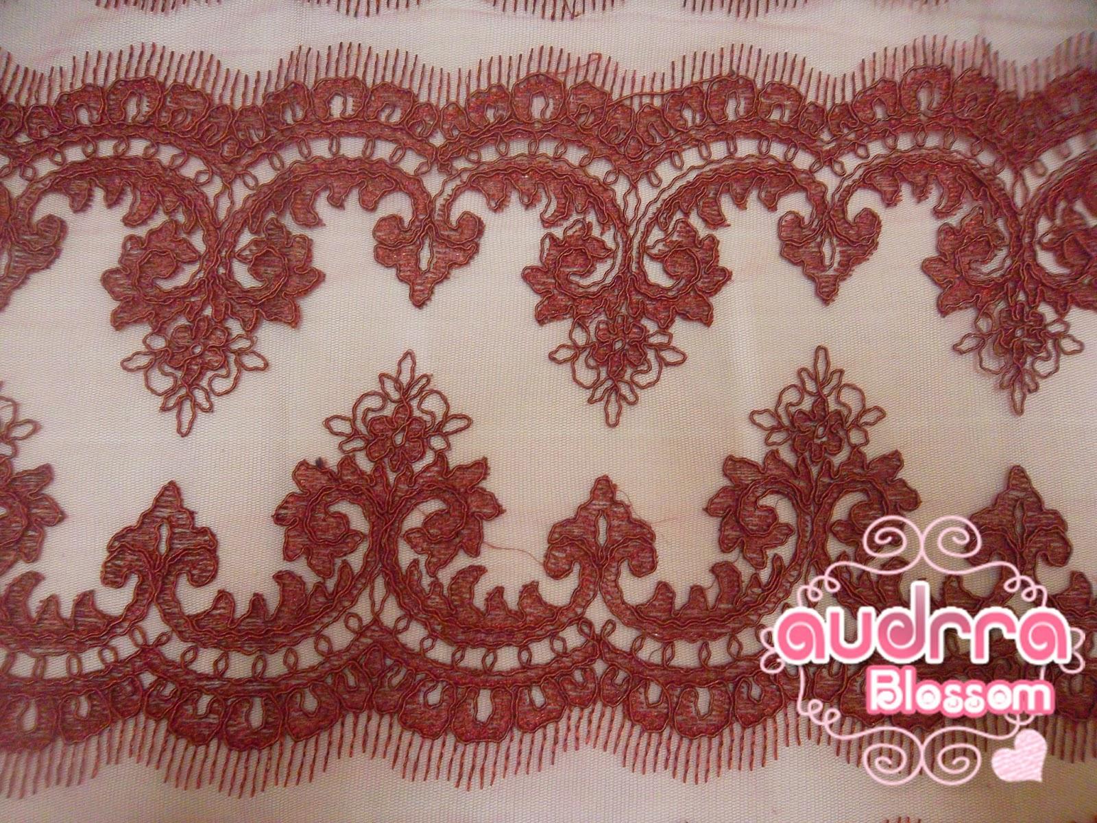 Border lace cantik