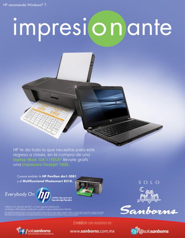 Sanborns impresora gratis en la compra de una laptop hp for Sanborns los azulejos direccion