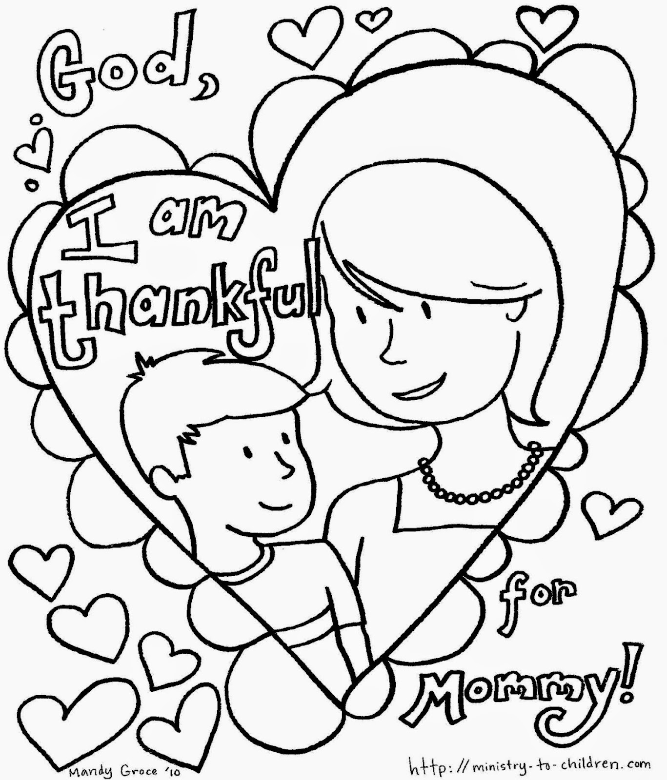 mothers day coloring pictures free coloring pictures