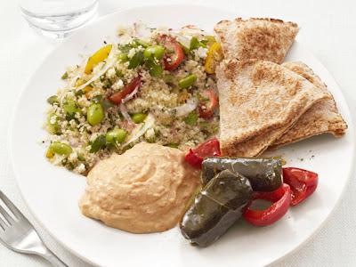 Middle Eastern Mezze Plate Recipe