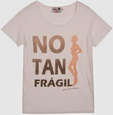 nuevas camisetas con mensajes Dolores Promesas No Tan Frágil