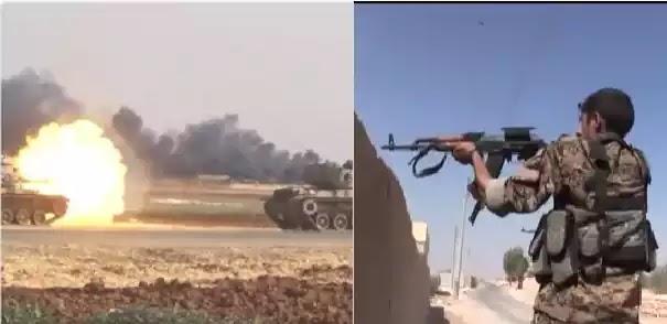 Αντεπίθεση Κούρδων στην Ν.Α. Τουρκία και Συρία: Δεκάδες Τούρκοι στρατιώτες νεκροί σε μάχες «σώμα με σώμα» video