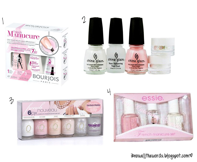 DIY: French Manicures | I Know all the Words