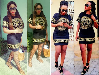 Fashion Face off ; Daniella Okeke Vs Toyin Lawani who wore the Versace Shirt Better?