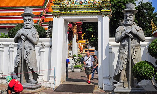 Wat Pho Marco Polo Gate