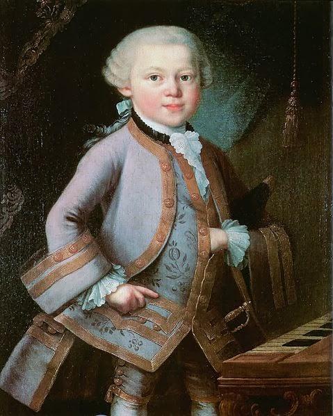 Wolfgang Amadeus Mozart, Homeschool Blog, Bernice Zieba, Jan Zieba
