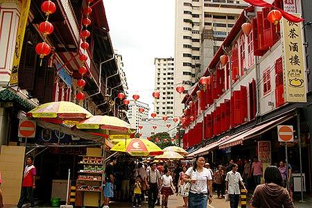 Tempat belanja di Singapura