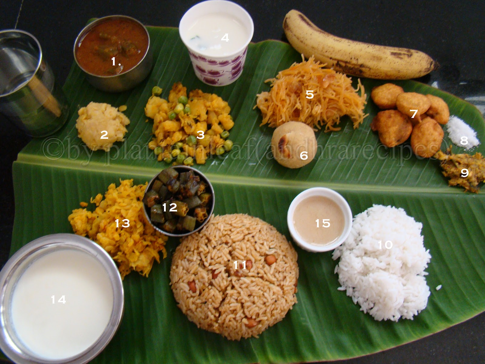 Plantain leaf andhra recipes paneer atta laddu with for Andhra cuisine dishes
