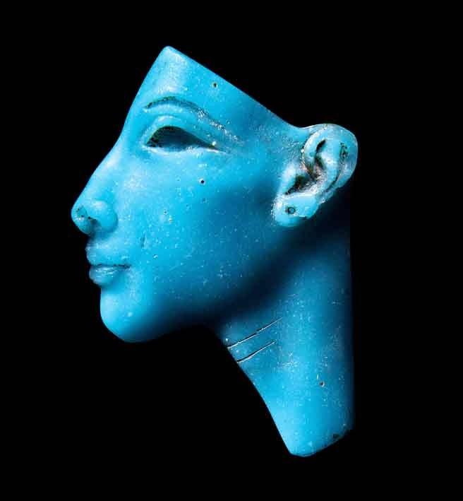 Antigüedad turquesas de Egipto