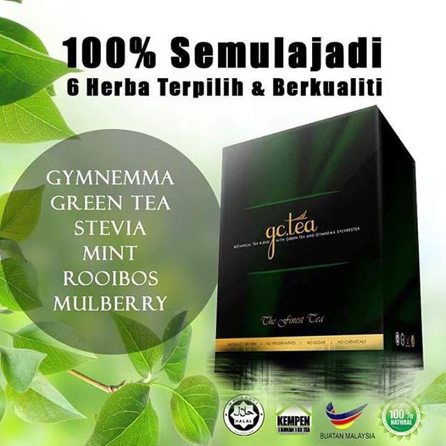 GLUCOS CUT TEA (GC TEA) TEH SEKAT GULA