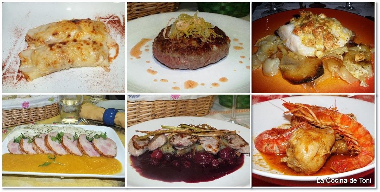 La cocina de toni platos principales para navidad for Platos de cocina