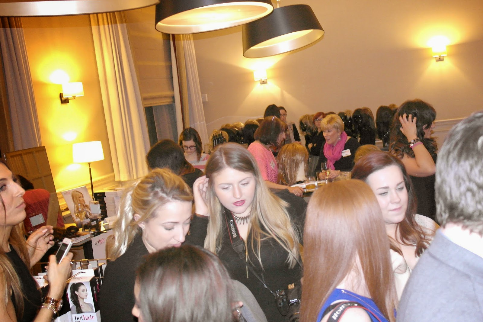 Meeting new bloggers at Hot Hair bloggers event