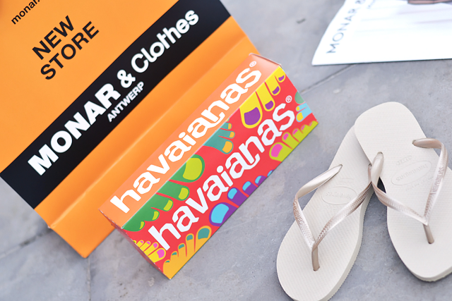Havaianas x monar, fashion, event, summer kick off, havaianas slippers, palm tree
