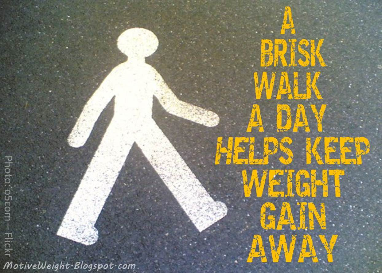 MotiveWeight: Walking Workouts Work