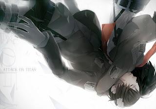 Attack on Titan Shingeki no Kyojin Mikasa Ackerman Eren Jaeger Anime HD Wallpaper Desktop Background