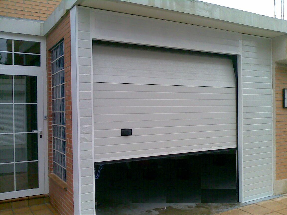 Metalicas anugar s c trabajos varios - Puertas de garaje murcia ...