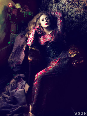 Adele by Mert & Marcus for Vogue US-7