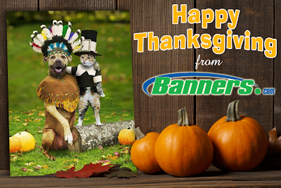 Happy Thanksgiving from Banners.com
