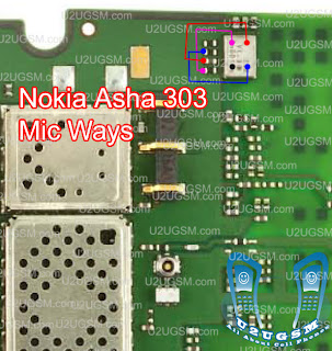 Nokia Asha 303 Mic not working solution Jumper