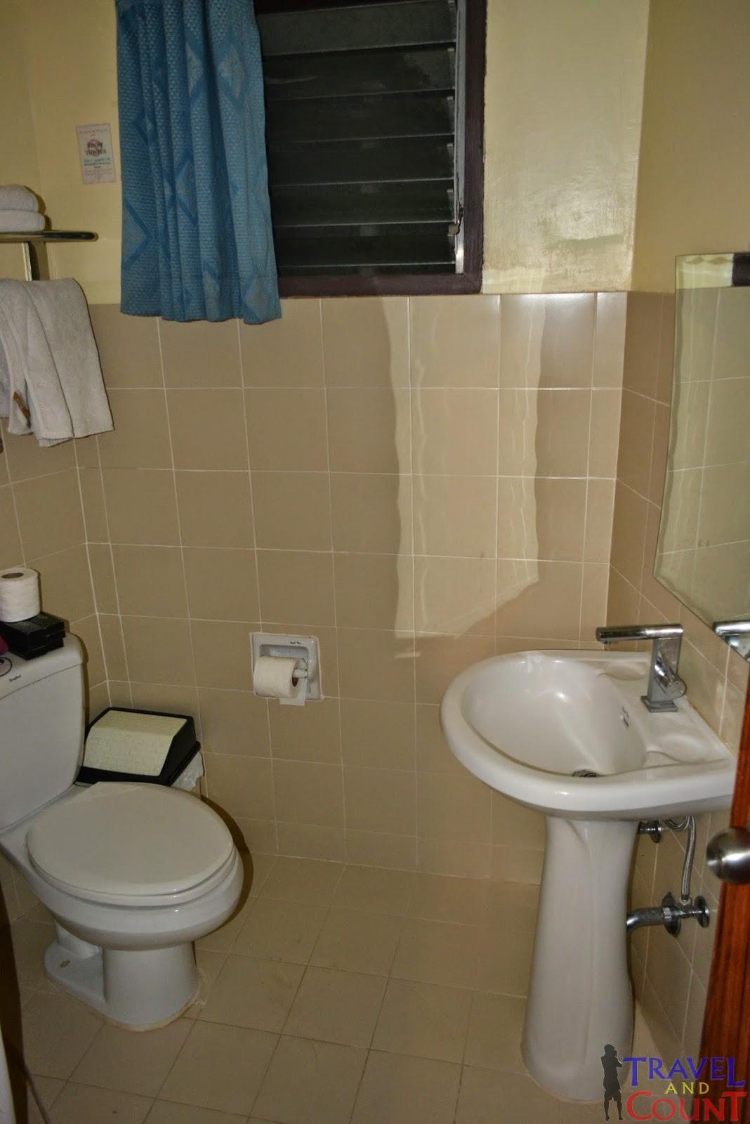 Paras Beach Resort Toilet
