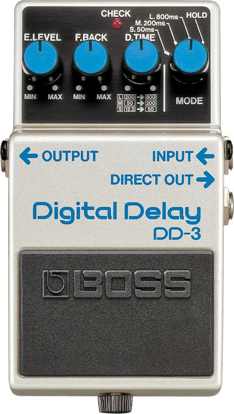 Boss DD-3 Delay Effect Pedal