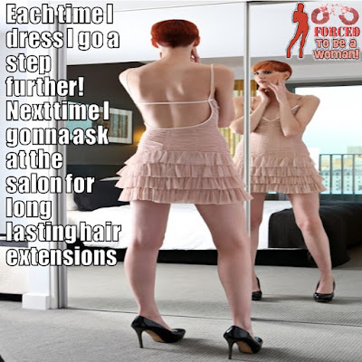 A step further Sissy TG Caption - Tg Captions and More - Crossdressing tales