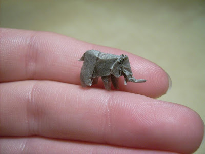 World's Smallest Origami by Anja Markiewicz Seen On www.coolpicturegallery.us