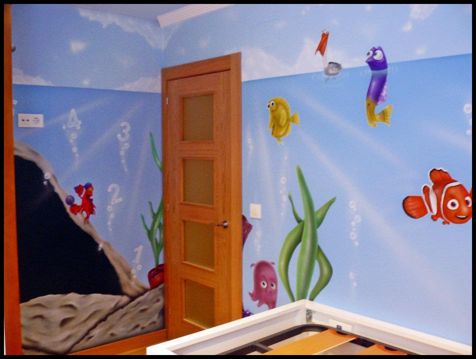 Interiorismo y decoracion lola torga dormitorio para - Pintura habitaciones ninos ...
