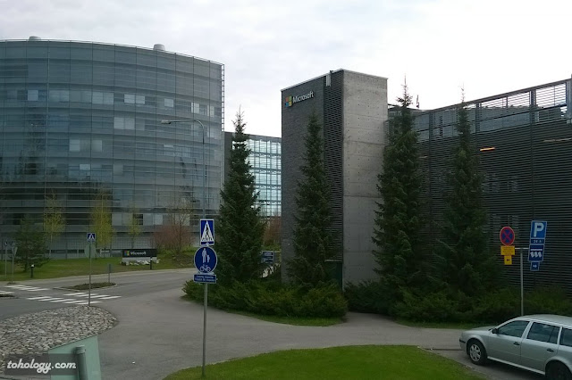 Microsoft office (previously, Nokia) in Espoo