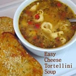 Easy Cheesy Tortellini Soup