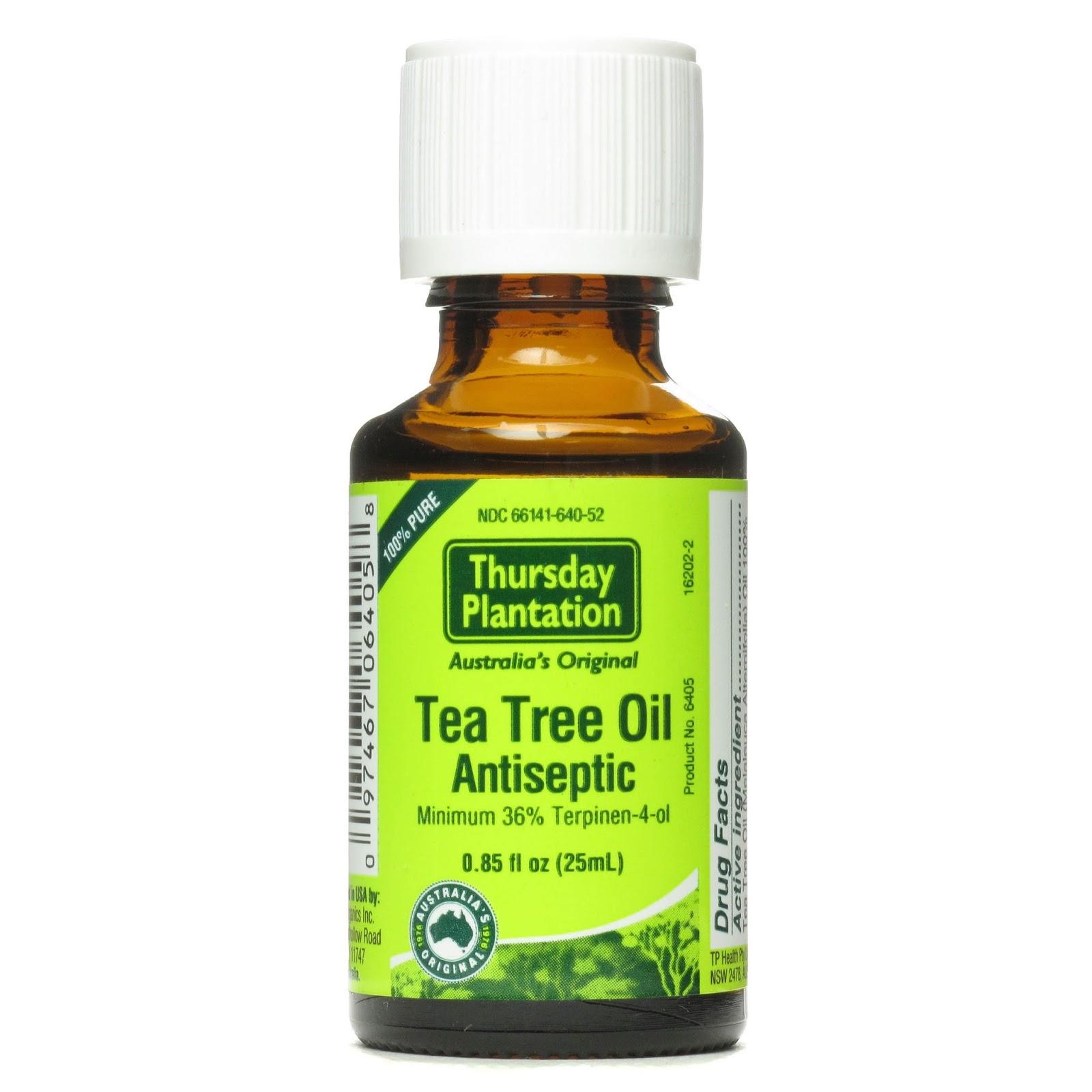 Tea oil for skin
