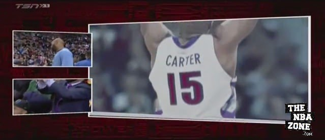 Toronto Raptors' Video Tribute to Vince Carter Brings Him to Tears